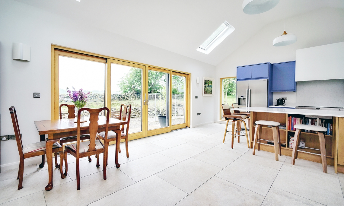 Springbank Cottage Extension, Downhill